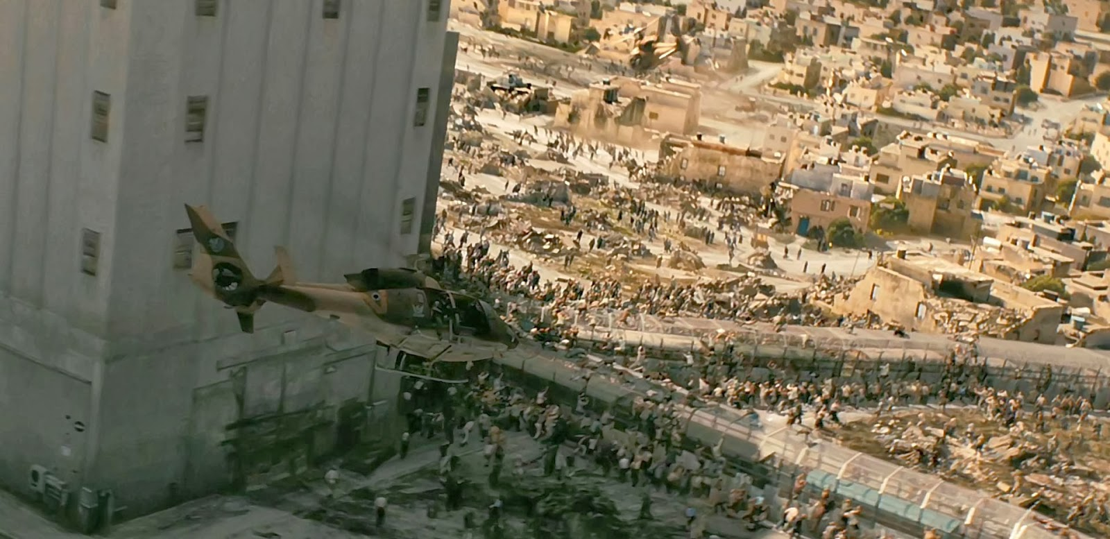 Resultado de imagen de guerra mundial z jerusalem