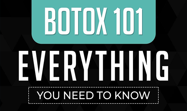Botox 101: Everything You Need to Know #infographic