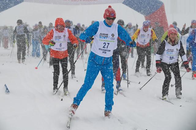 Лыжня России 2021, Сочи