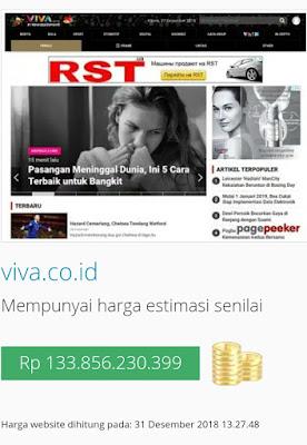 cek harga situs viva.co.id