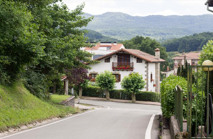 paseo lekumberri (Navarra) fotografías