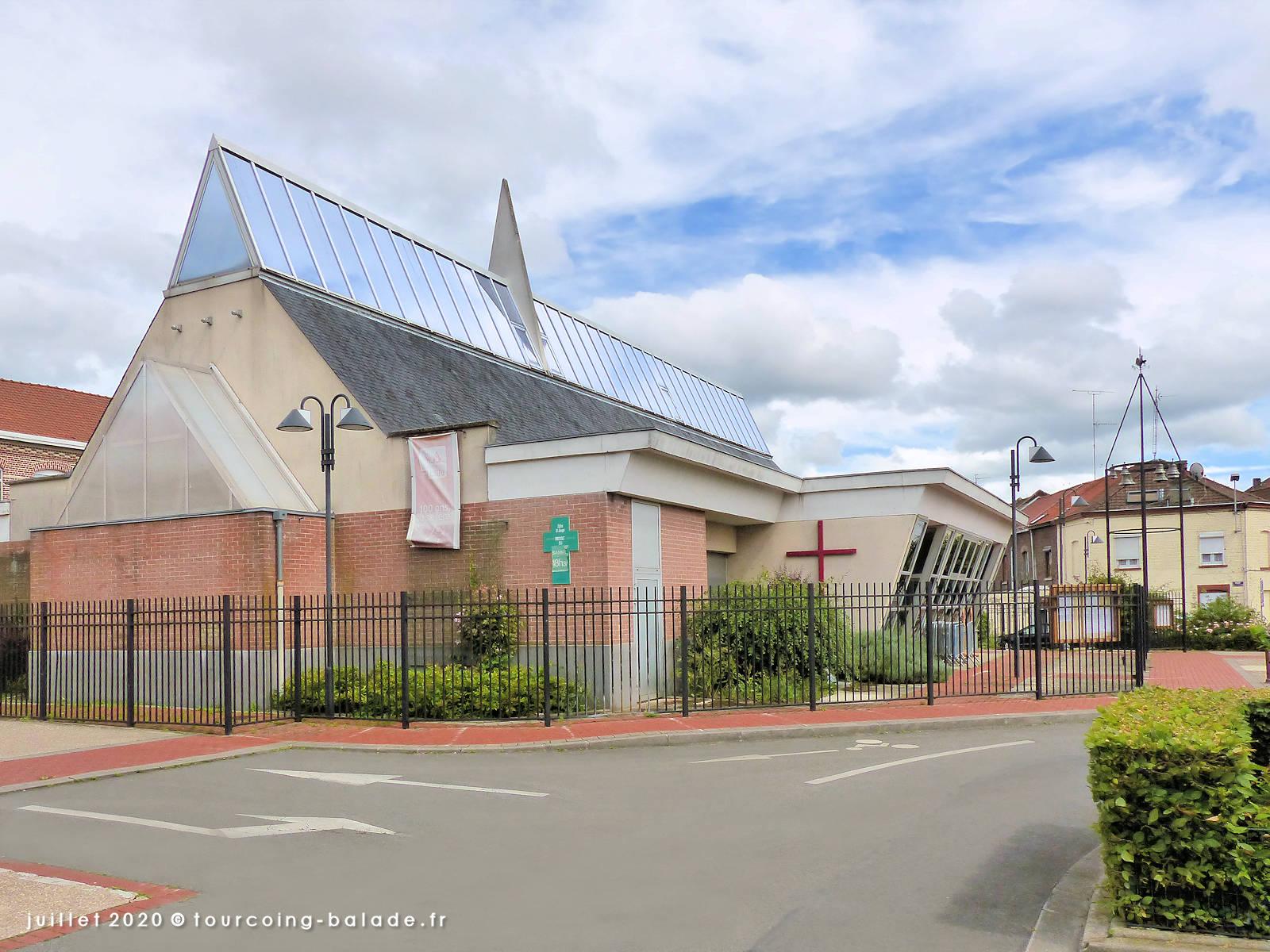 Église Saint Joseph, Tourcoing 2020