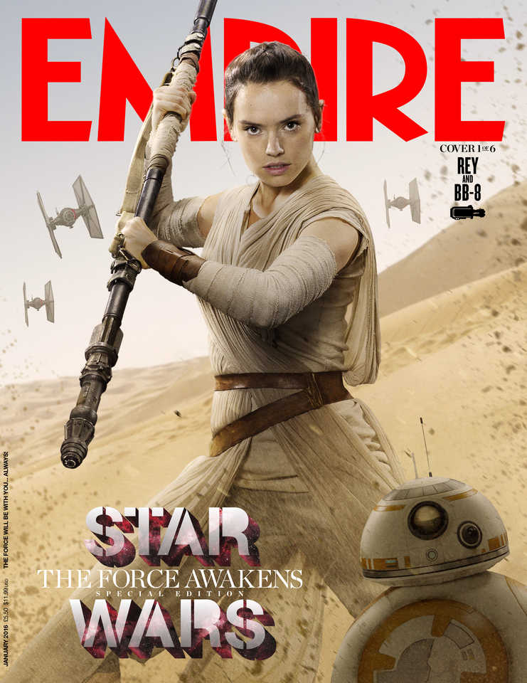Check Out Empire Magazine's STAR WARS: THE FORCE AWAKENS