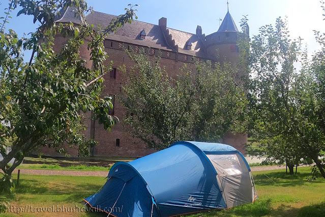 Camping in Amsterdam Muiderslot