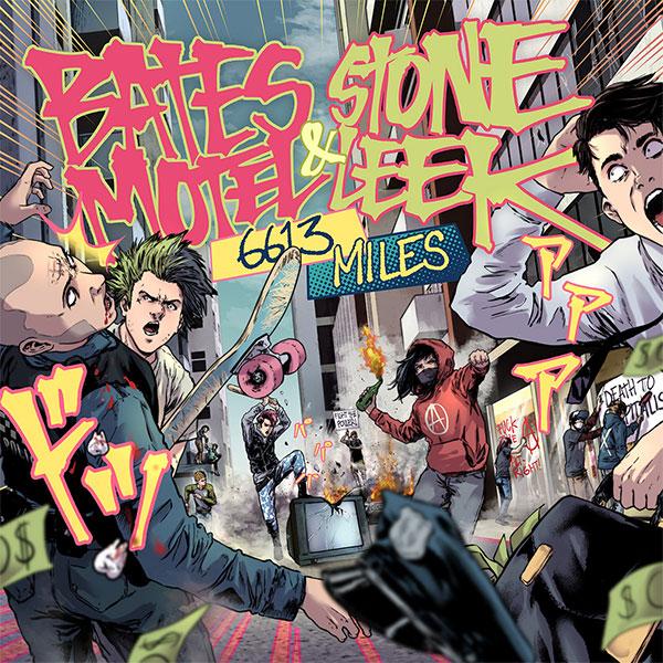 "Bates Motel and Stone Leek stream new split ""6613 Miles""."