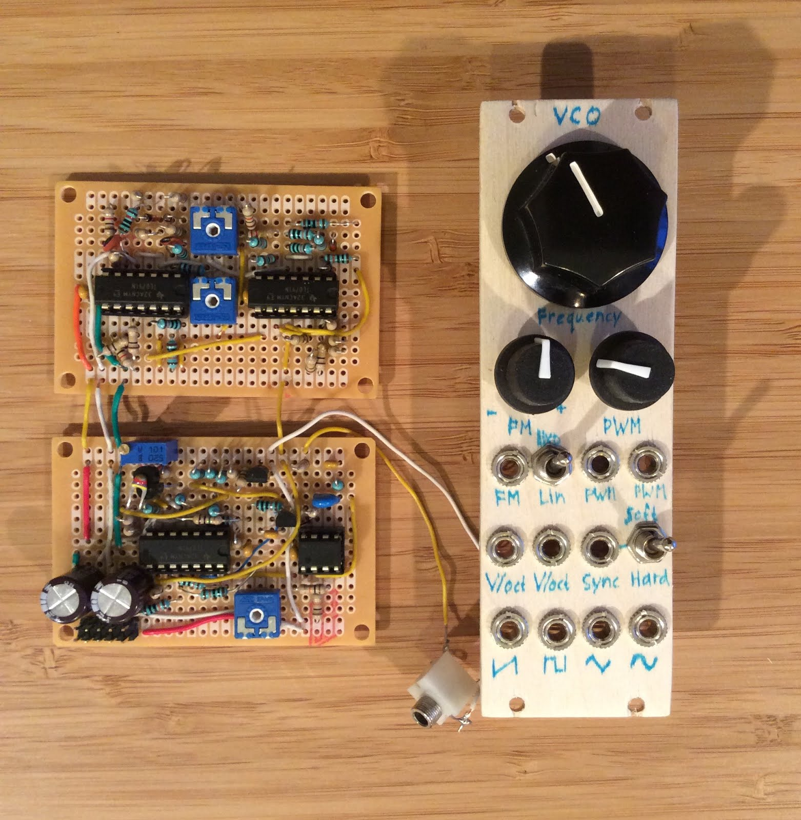 Kassutronics Vco Part 1 Core Voltage Divider More Engineer Equations Diy Synth Schematics Built Circuit