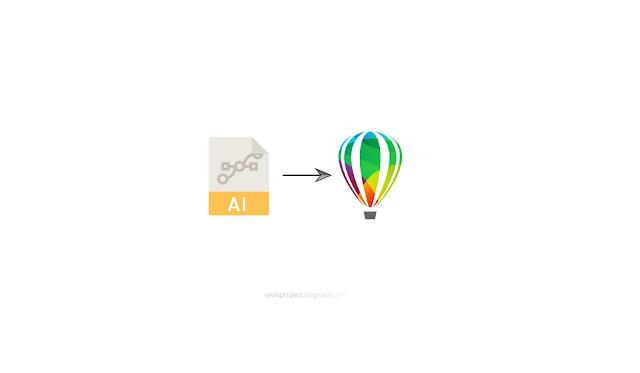 Beberapa Cara Membuka File Adobe Illustrator di CorelDraw