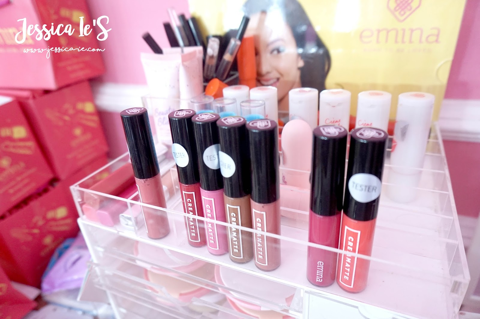 Jessica Ies Lifestyle Journal Event Report Blobar Instant Beauty Emina Matte Lipcream This Is The Swatch Of Creammate Lip Cream