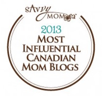 Top Influential Canadian Blogger Badge