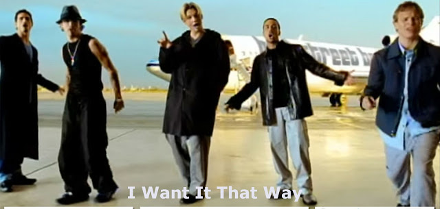 I Want It That Way Lyrics