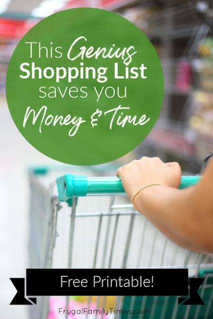 best grocery list