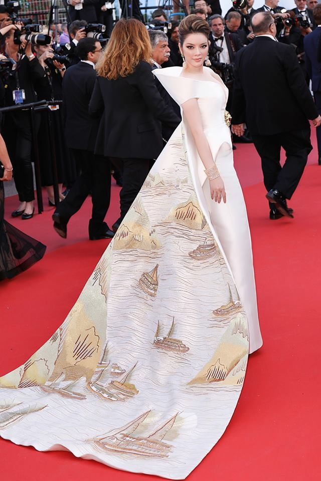 Ly Nha Ky on Cannes  2018