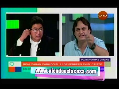 EDUARDO GUTIÉRREZ (PDTE. SOS BOLIVIA) VS. EDGAR MONTAÑO (DIPUTADO MAS) | DEBATE EN QNMP