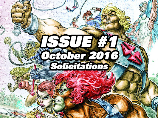 October Solicitations for HE-MAN / THUNDERCATS issue #1 from DC Comics!