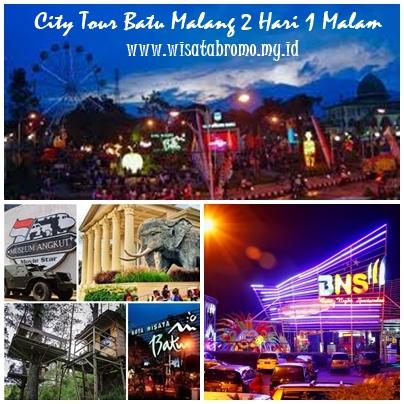 Paket Liburan Batu Malang City Tour 2 Hari 1 Malam Wisata Bromo Tour Travel