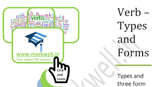 Markwell upsc ssc railway exams and banking preparation one verb types and verb forms ccuart Image collections