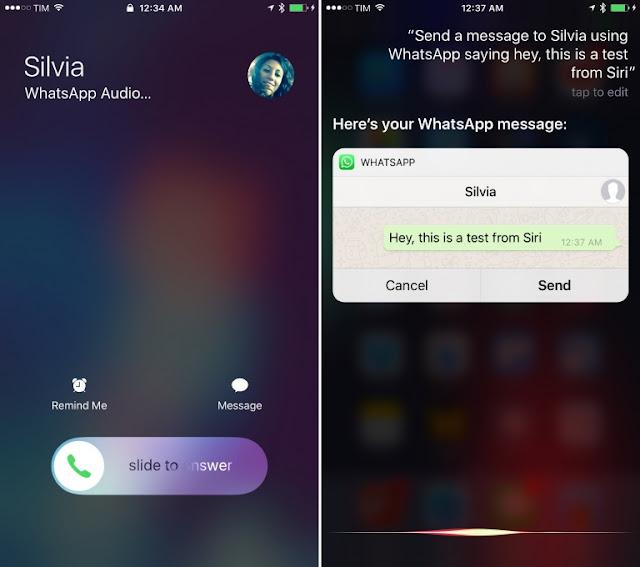 تحديث كبير لواتساب على iOS 10 بمزايا جديدة
