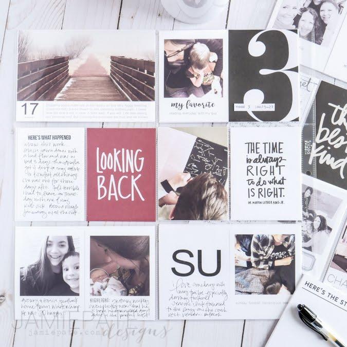 Project Life Week 03 by Jamie Pate   @jamiepate