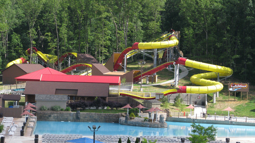 #24. Wildebeest, Indiana - The World's 25 Scariest Waterslides… I'm Surprised #6 Is Even Legal.