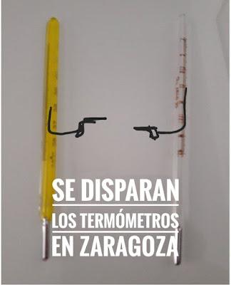 Se disparan los termómetros en Zaragoza