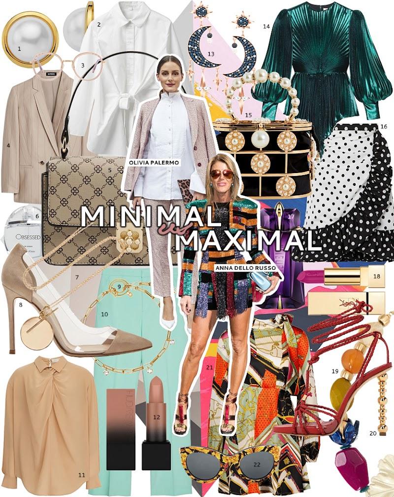 Minimalista o maximalista ¿en qué bando estás?