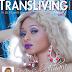 Nigerian transgender Ms Sahhara covers new issue of Transliving magazine