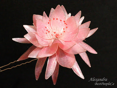 Handmade hair pin Lily