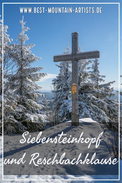 Winterwandern Mauth-Finsterau  Reschbachklause – Siebensteinkopf  Nationalpark Bayerischer Wald 25