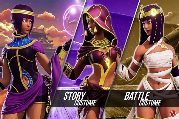 Menat Street Fighter V