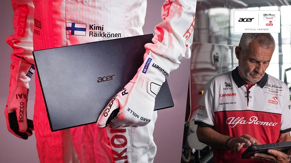 Acer and Sauber Motorsport - Alfa Romeo Racing ORLEN