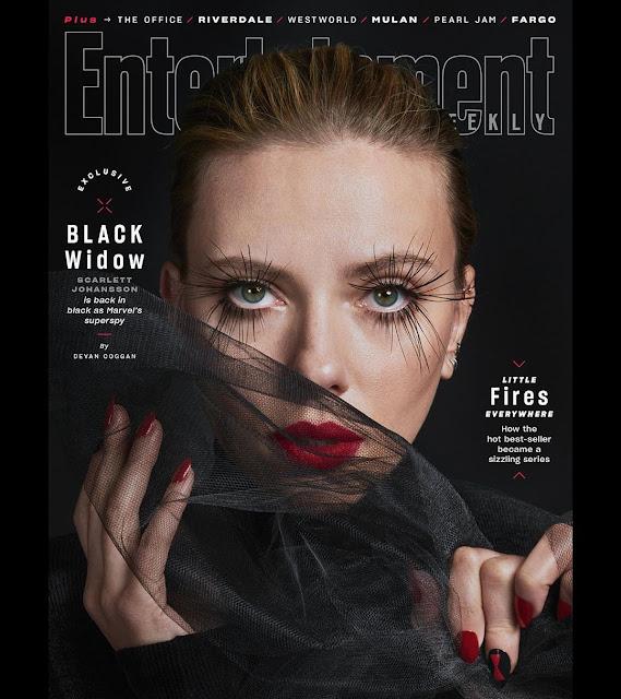 Scarlett Johansson sorprende con impactante sesión de fotos