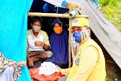 Kunjungi Langsung ke Lokasi Bencana, Lions Club Makassar Serahkan Bantuan Kepada Korban Gempa Sulbar