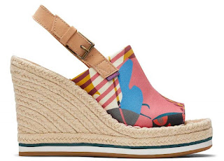 Shoeography: Shoe of the Day: TOMS Monica Mule Wedge Hee