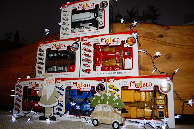 Zupełna Nowość ! Klocki MalBlo Magnetic - Idealny prezent na Święta!