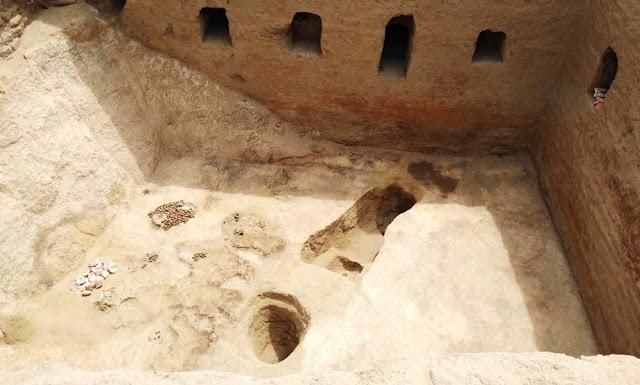 Tumba de época inca en sitio arqueológico de Lambayeque