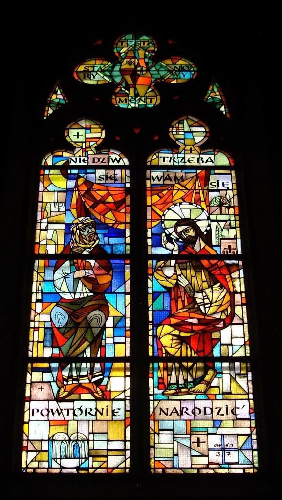 Jeśli się ktoś nie narodzi z wody i z Ducha. Katedra Łódź. Nikodem.