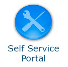 how to use wfa as a self service portal