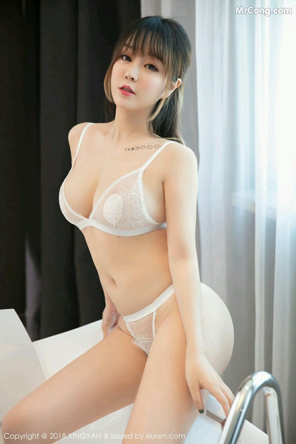 Image XingYan-Vol.076-Wang-Yu-Chun-MrCong.com-007 in post XingYan Vol.076: Người mẫu Wang Yu Chun (王雨纯) (41 ảnh)