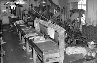 Linotype machines at the Kerrville Daily Times