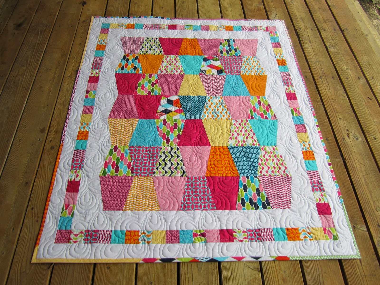Sue Daurio's Quilting : 100 Quilts for kids wrap up