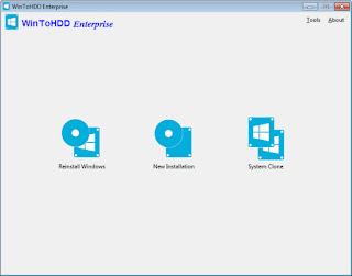 WinToHDD Enterprise 2.2 Final Multilingual Full Patch + Portable