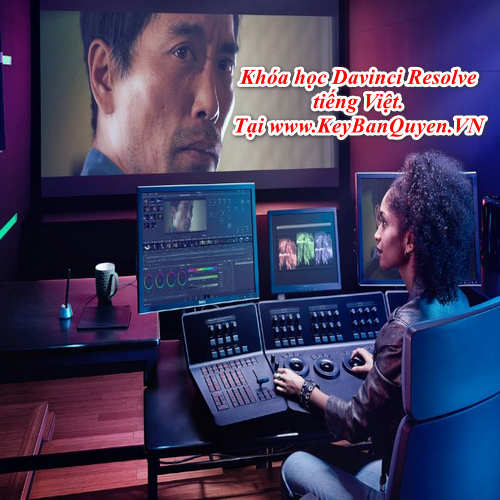 Khóa học Davinci Resolve Video giáo trình tiếng Việt, Khóa học dựng phim chuyên nghiệp.