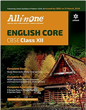 All In One ENGLISH CORE CBSE for Class 12th