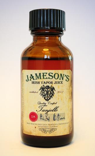 vapour taster  tanjello by jameson u0026 39 s irish vapor juice