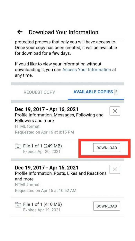 Facebook data backup kaise kare, फेसबुक डेटा बैकअप कैसे करे,