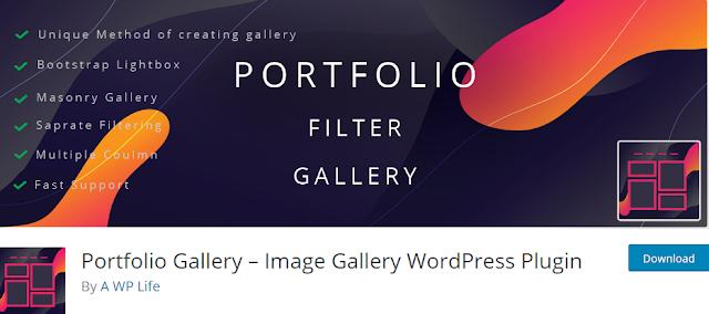 Portfolio Gallery – Image Gallery WordPress Plugin