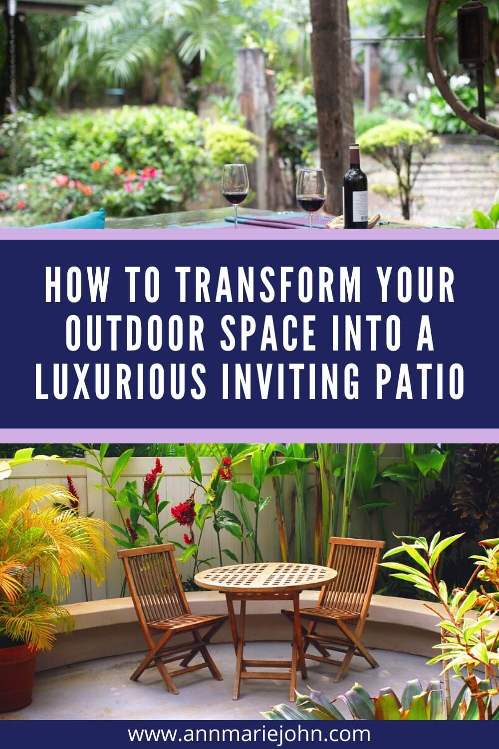 How to Transform Your Outdoor Space into a Luxurious Inviting Patio