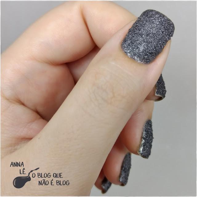 Elevado Cora Esmalte Textura Liquid Sand Coleção Concreto
