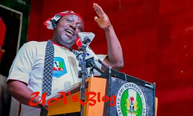 Okorocha's Daughter Escapes Lynching As Angry Mob Stone Her In Owerri