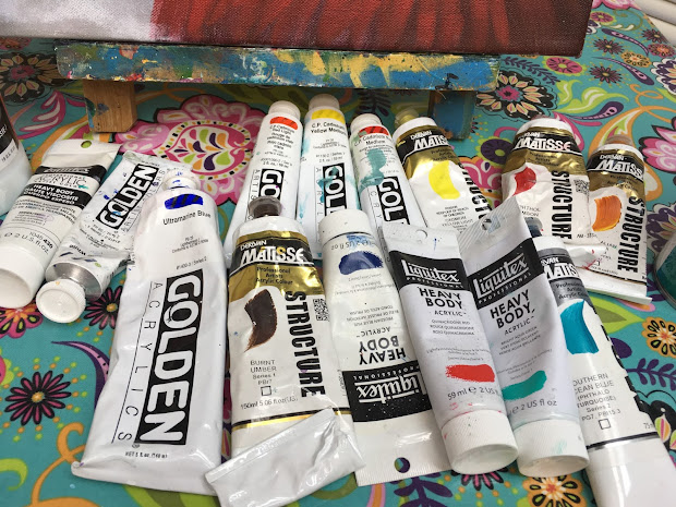 Painting With Art Sherpa Materials List